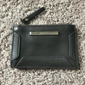 Nine West Taupe Grey Change Wallet